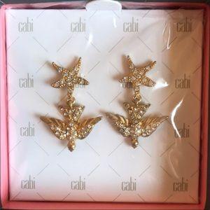 Cabi earrings! **NEVER WORN**